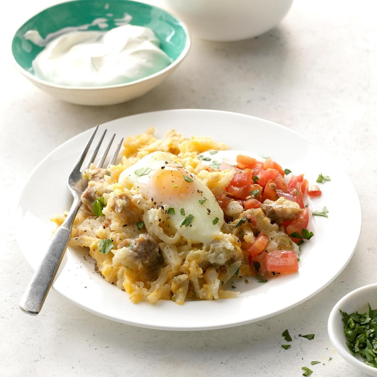 Slow Cooker Breakfast Recipes: All-In-One Slow-Cooker Breakfast Recipe