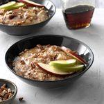 Apple pie steel cut oatmeal