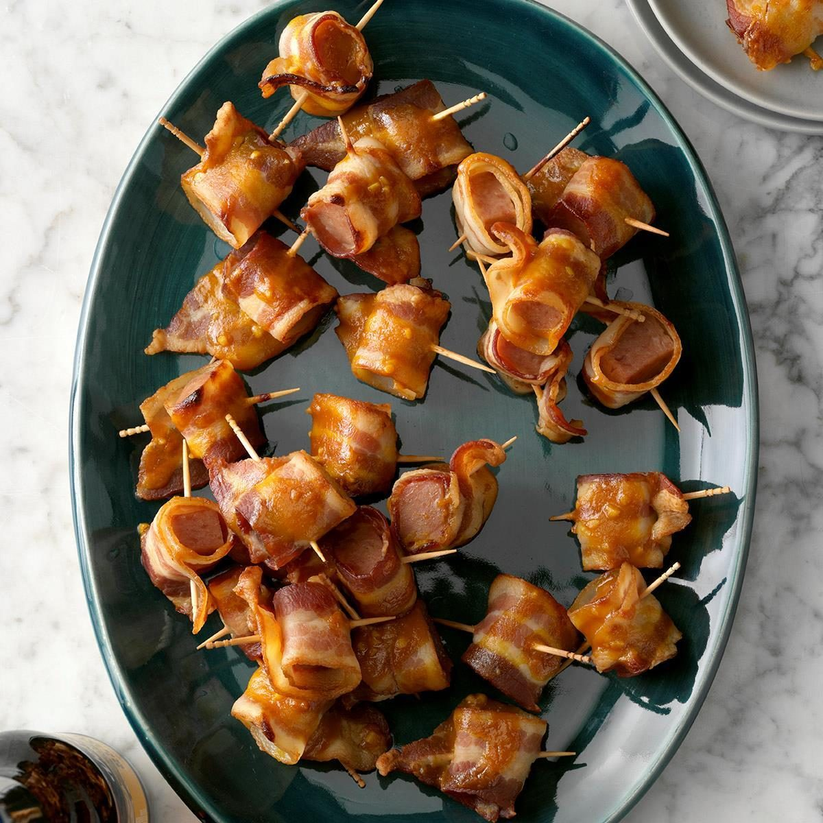 Bacon-Wrapped Spam Bites Recipe