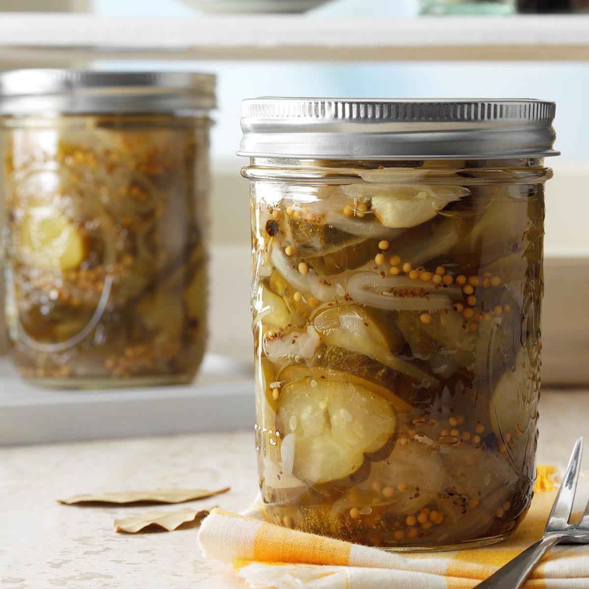 Best Ever Sweet Pickles