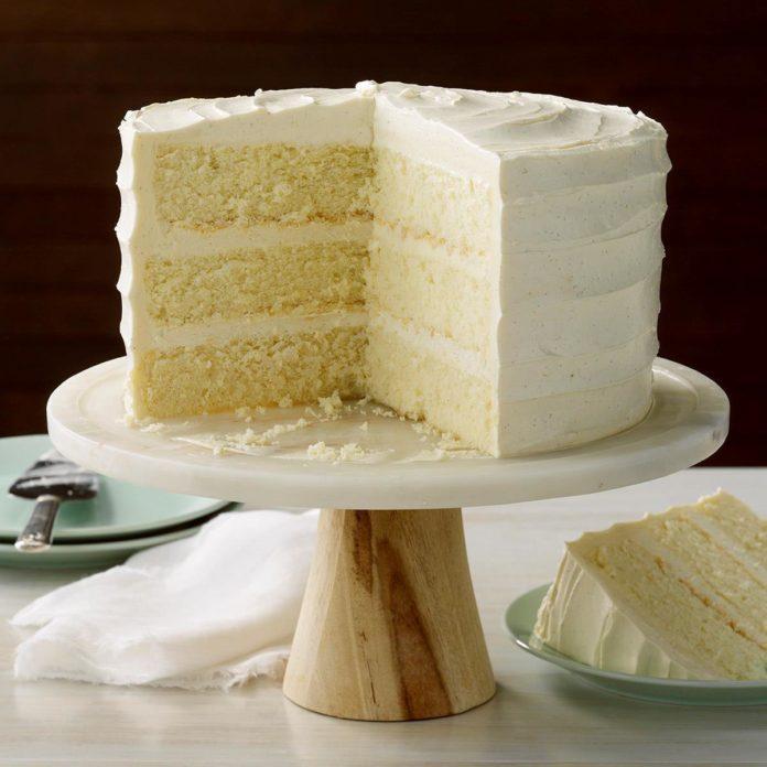Best Vanilla Cake