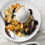 Blueberry, Apple and Pineapple Dump Cake