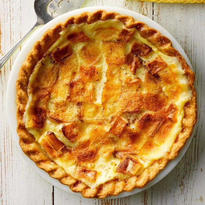 Runner Up: Bread Pudding Pie