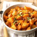 Pressure-Cooker Buffalo Wing Potatoes