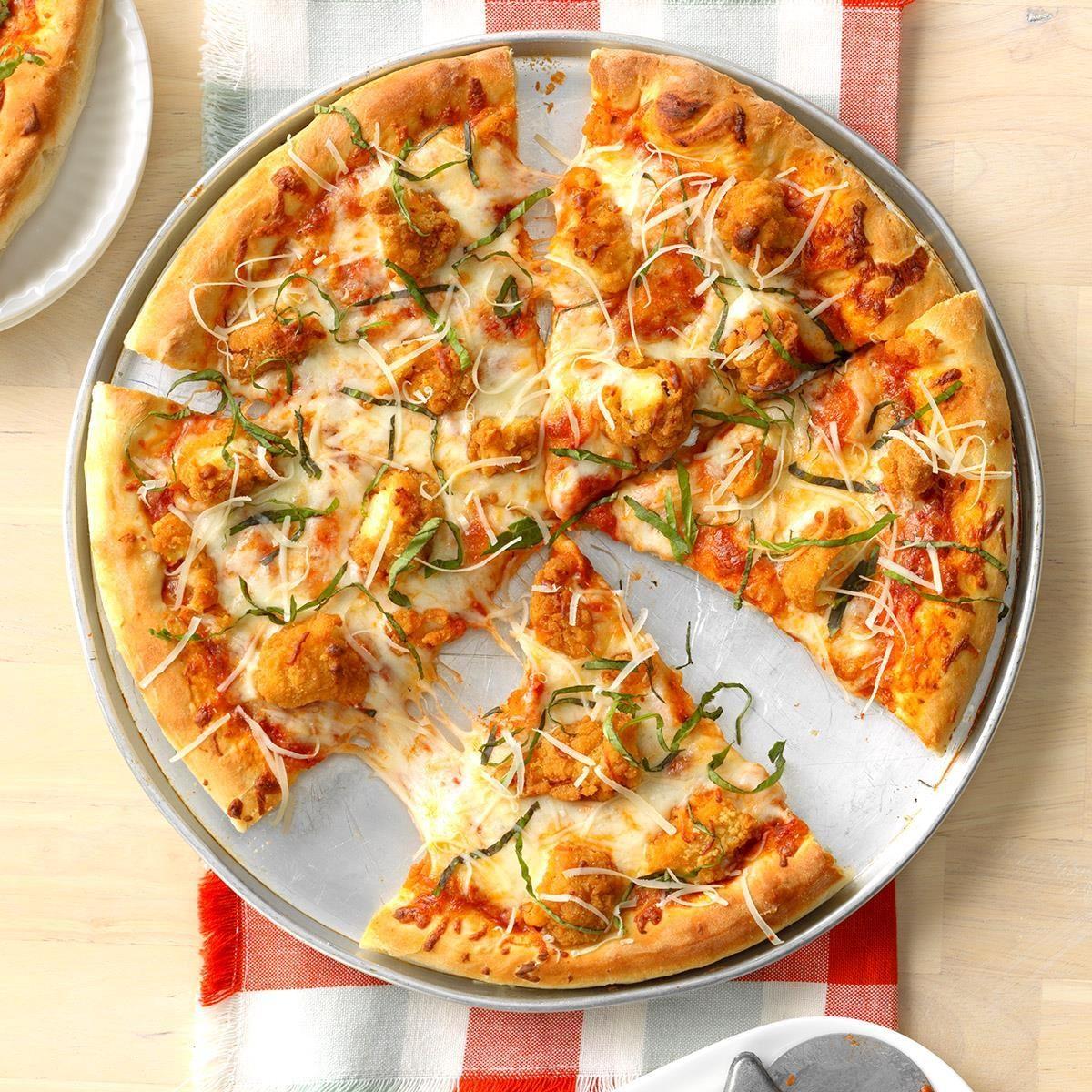 Chicken Parmesan Pizza Recipe Taste Of Home