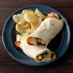 Cinnamon Whiskey BBQ Chicken Wraps