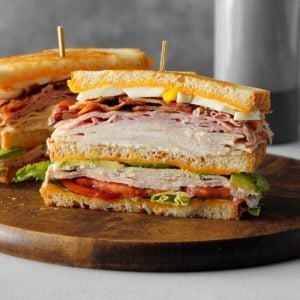 Cobb Salad Club Sandwich