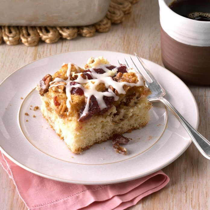 Cranberry-Orange Nut Coffee Cake