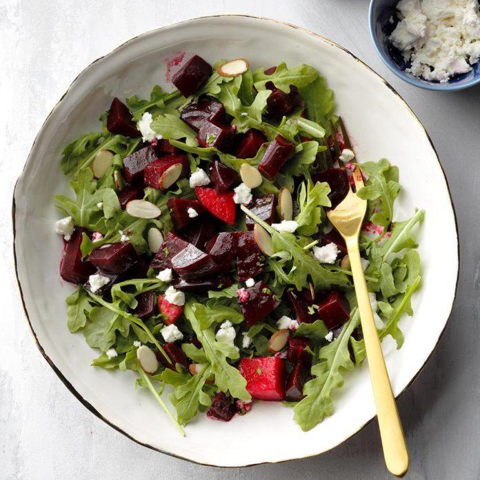 Runner Up: Cranberry & Roasted Beet Salad