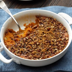 Crumb-Topped Sweet Potato Bake