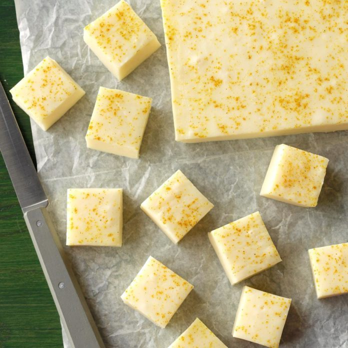 Runner Up: Curry-Kissed Coconut Fudge