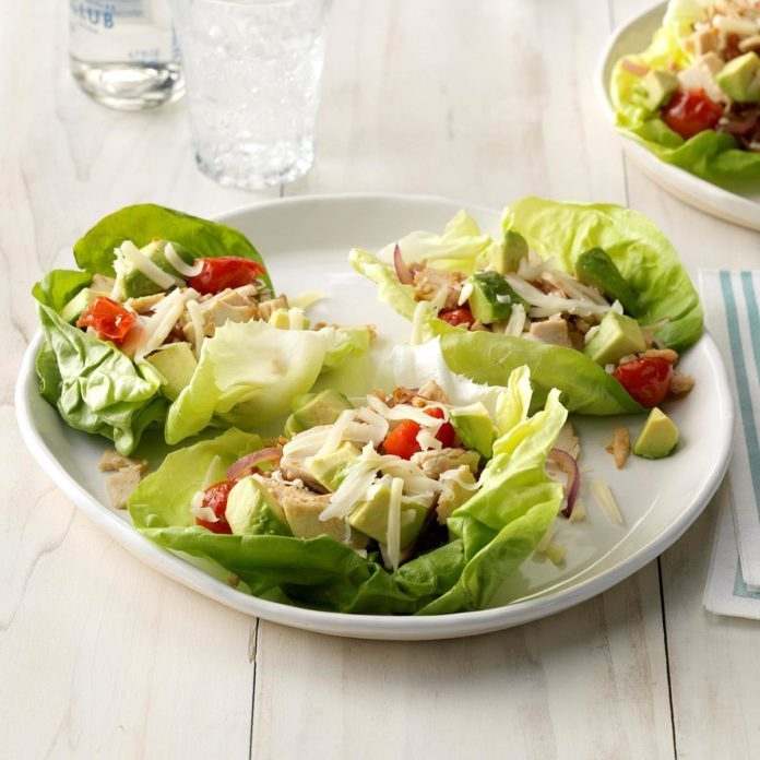 Deli Turkey Lettuce Wraps