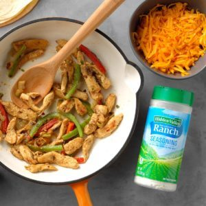 Ranch Chicken Fajitas
