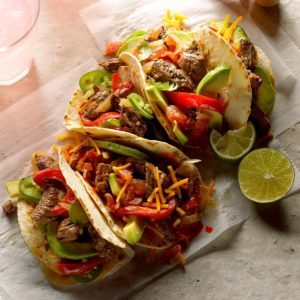 Pressure Cooker Steak Fajitas