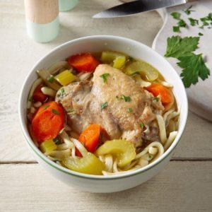 Grandma's Pressure Cooker Chicken Noodle Soup