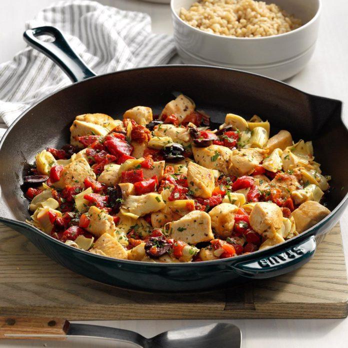 February 2: Greek Chicken & Rice