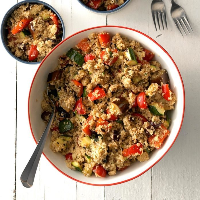 Vegetable Couscous Salad