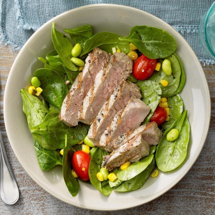 Grilled Tuna Salad