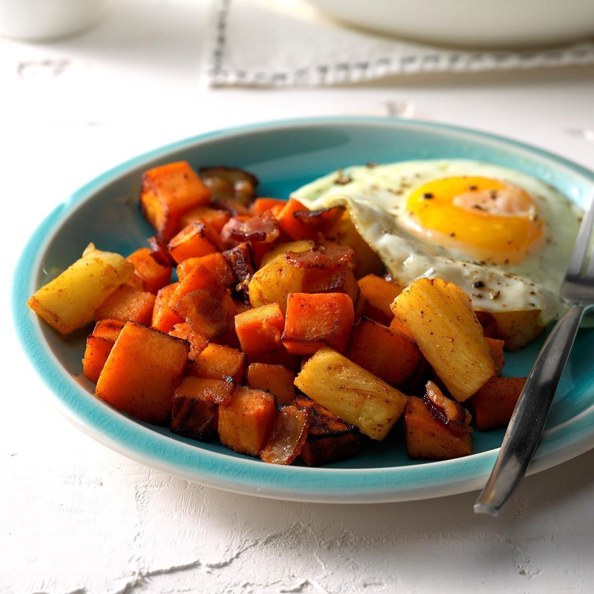 Hawaiian breakfast hash
