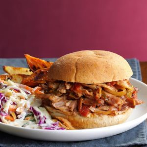 Pressure-Cooker Italian Pulled Pork Sandwiches