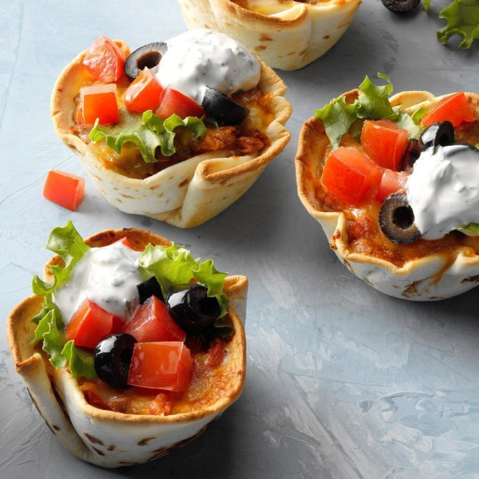 Day 4: Lentil Taco Cups