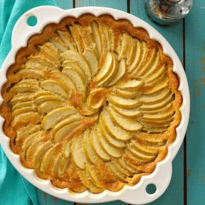 Maple-Apple Clafouti