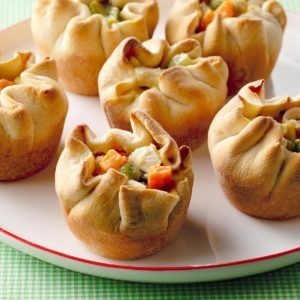 Muffin-Tin Chicken Potpies