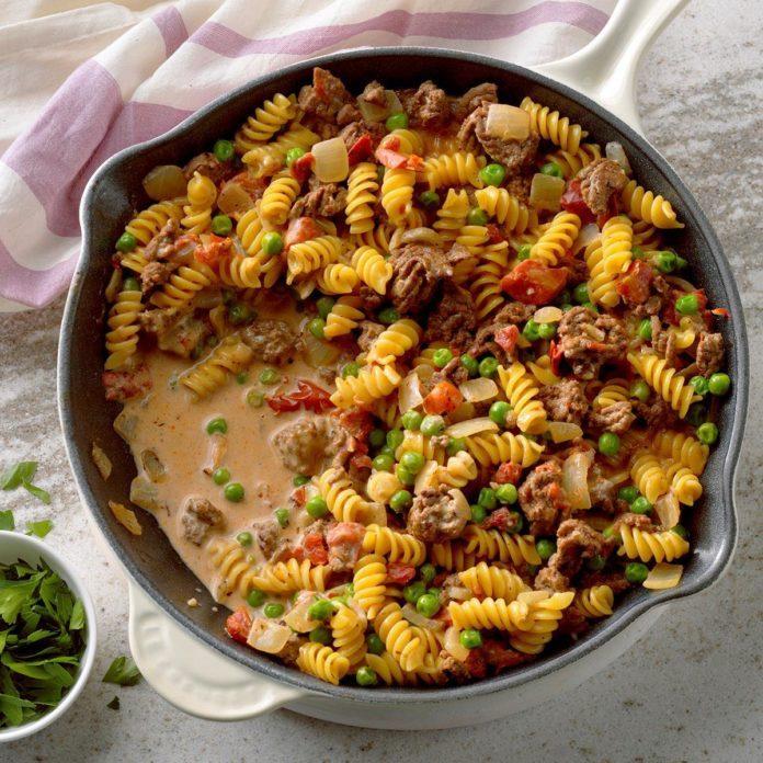 Ground Beef Pasta Recipes