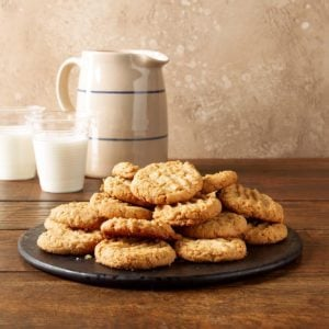 Peanut Butter Coconut Cookies