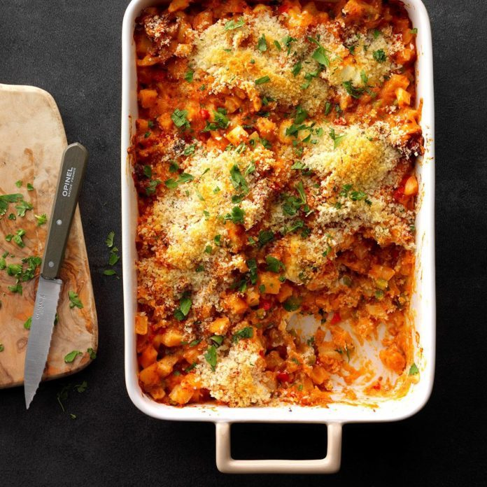 Runner Up: Potato and Chorizo Casserole
