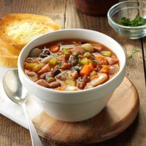 Pressure Cooker Provencal Ham & Bean Soup