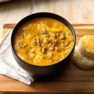 Pumpkin Sausage Soup