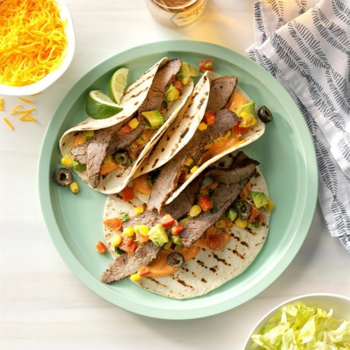 Grilled Steak Tacos