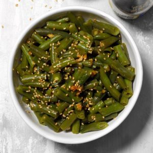 Asian-Style Green Beans