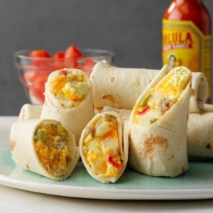 Slow-Cooker Breakfast Burritos