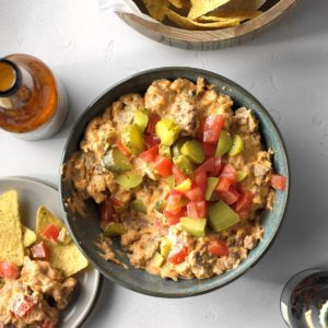 Slow-Cooker Cheeseburger Dip