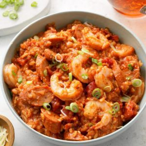 Slow-Cooker Jambalaya Risotto