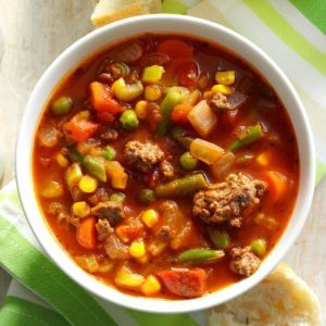 Pressure Cooker Spicy Beef Vegetable Stew