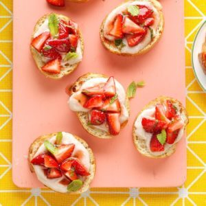 Strawberry Ricotta Bruschetta