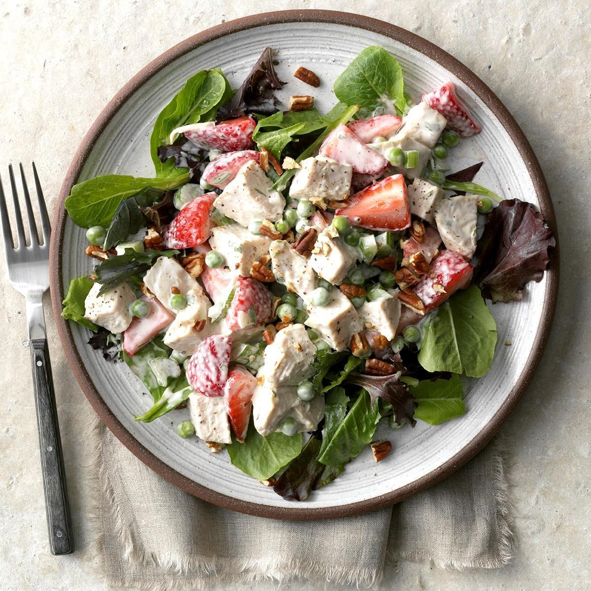 Strawberry Tarragon Chicken Salad Recipe