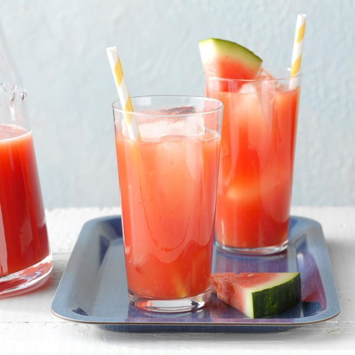 July 4th Pool Party: Summertime Watermelon Punch for a Crowd