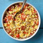 Sweet Corn-Tomato Salad