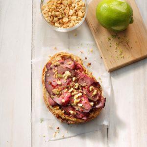 Thai-Inspired Roast Beef Sandwich
