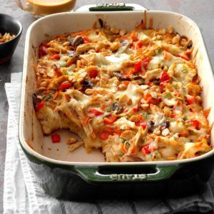 Casserole-a-Day Meal Plan for October