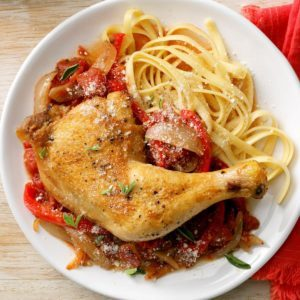 Weekday Chicken Cacciatore