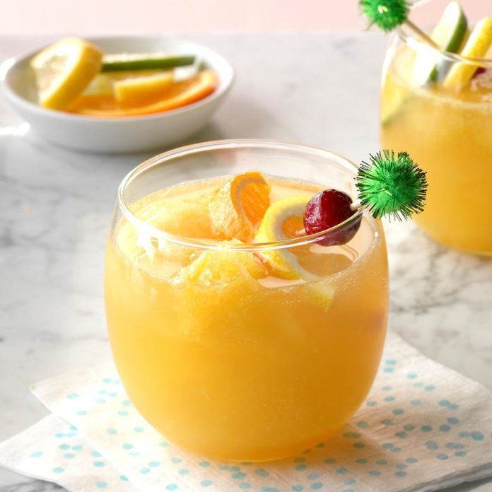 Whiskey-Brandy Slush