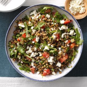 Wild Rice and Lentil Salad