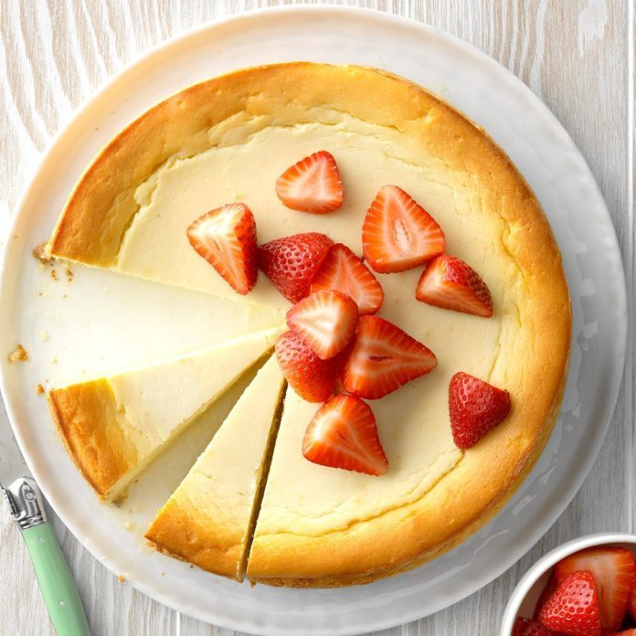 Yogurt Ricotta Cheesecake