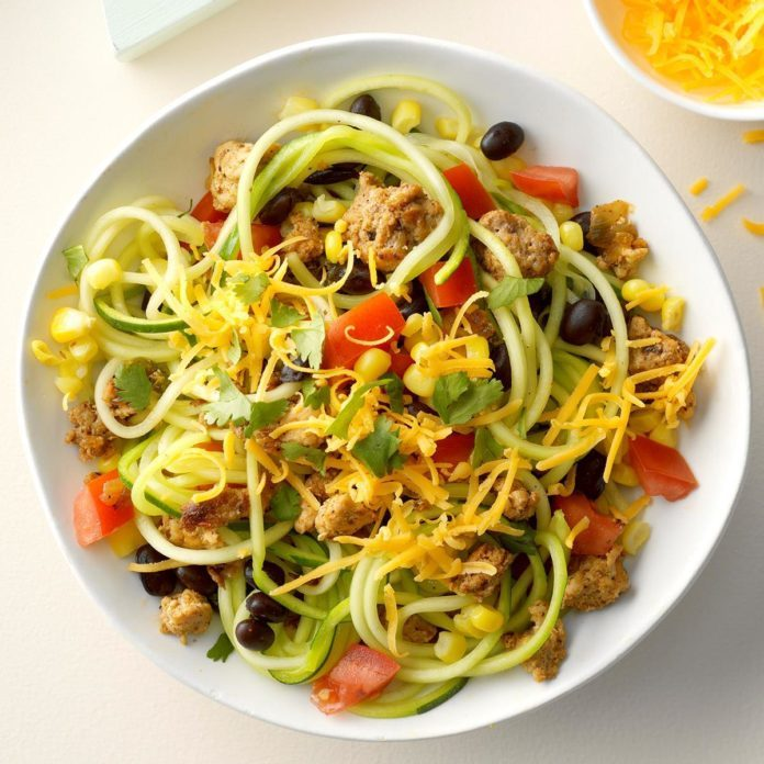 Zippy Turkey Zoodles