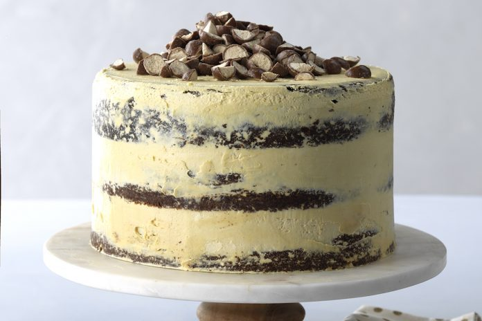 Malted Chocolate And Stout Layer Cake